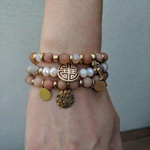 Jewelry - Three Natural Stone bracelets